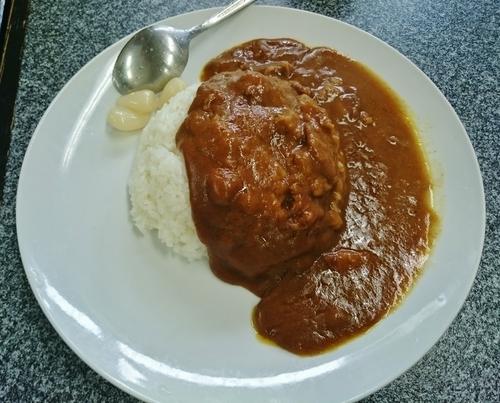 「ビーフカレーライス 540円」@ときわ食堂の写真
