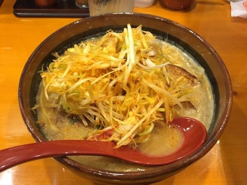 「北海道 肉ネギ味噌ラーメン」@麺場 田所商店 熊谷銀座店の写真