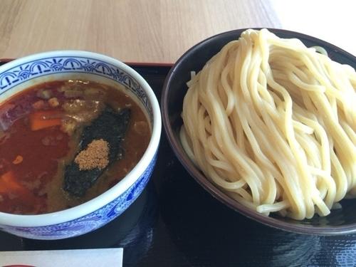 「辛つけ麺 ¥780」@つけ麺専門店 三田製麺所 セブンパークアリオ柏店の写真