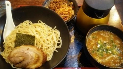 「味噌つけ麺  大盛  辛口」@とんこつらーめん つけめん 鋼 HAGANEの写真