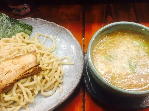 「紫つけ麺 中盛(780円)」@つけ麺 紫匠乃 門前仲町店の写真