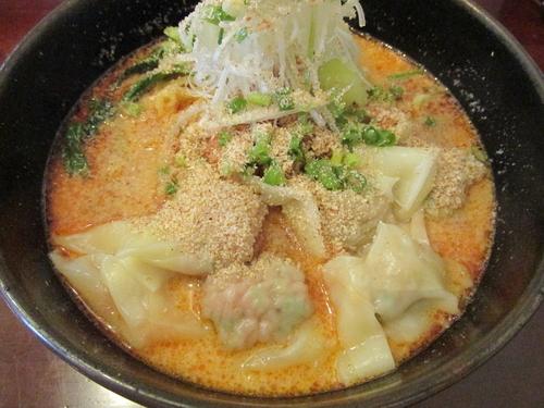 「濃厚雲呑入り担々麺 「850円」」@ワンタン麺専門店 雲呑美の写真