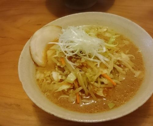 「味噌ラーメン 大 810円」@豆でっぽうの写真