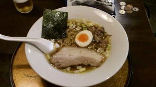 「らーめん 太麺_770円」@信濃神麺 烈士洵名の写真