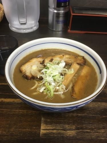「らー麺(200g、700¥)」@らー麺 つるやの写真