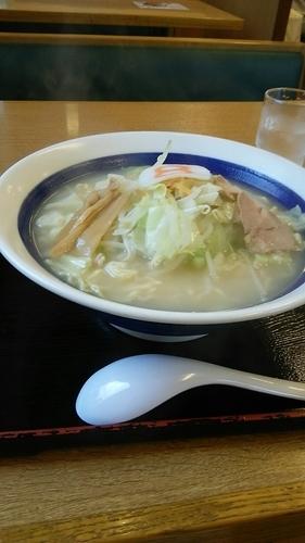 「野菜ラーメン塩 大盛」@8番ラーメン 小松店の写真