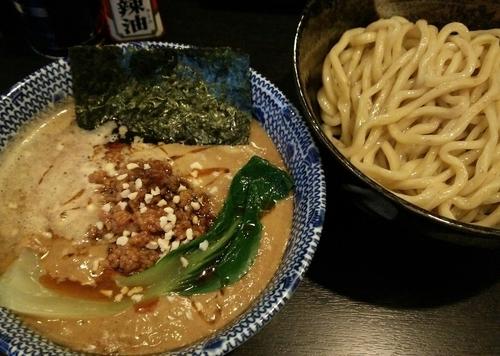 「【限定】胡麻味噌坦々つけ麺 800円」@二代目狼煙 本店 葉隠製麺の写真