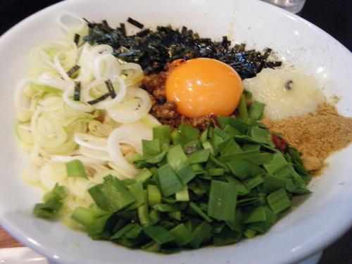 「台湾まぜそば(ニンニク多・辛多)850円」@つけ麺屋 しずくの写真