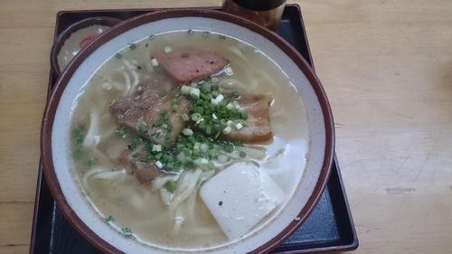 「名護そば」@一銀食堂の写真