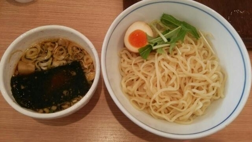 「鶏×秋刀魚つけ麺」@麺処 直久 アリオ上尾店の写真
