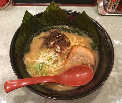「ガリバタラーメン 700円」@麺や 風まかせの写真