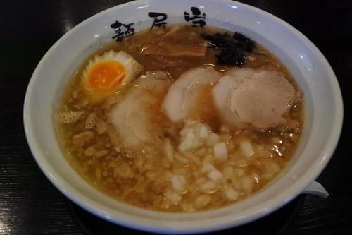 「醤油らーめん(麺屋 嵐メニュー)」@愛食飯店の写真