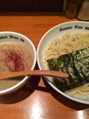 「濃厚つけ麺(煮干し)」@麺Dining Number Nine 09の写真
