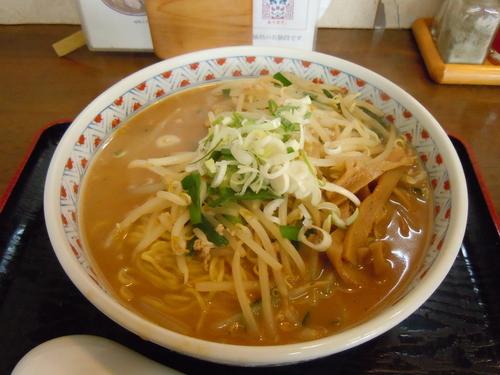 「味噌そば大盛(細麺)」@麺や 一香。の写真