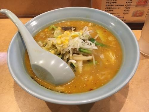 「味噌ラーメン【800円】」@元祖ニュータンタンメン本舗 尻手店の写真