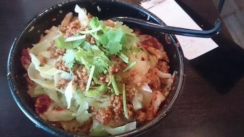 「油撥刀削麺」@西安料理 張家 大崎店の写真