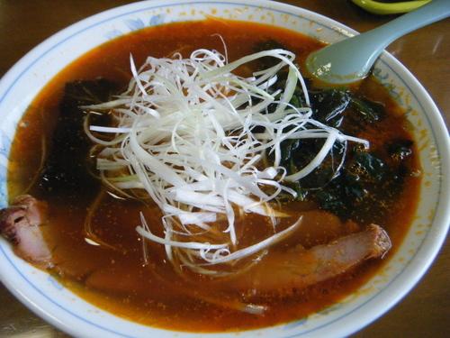 「ごまらーめん650円」@手打中華 鈴木食堂の写真