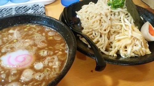 「魚濃醤油黒つけそば850円」@麺屋 味噌一 本店の写真