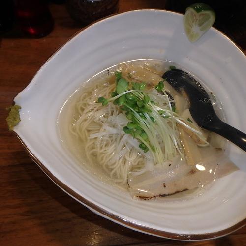 「鯛塩らーめん(720円)(細麺)」@麺屋 軌跡 本店の写真