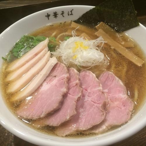 「煮干チャーシューメン 850円」@中華そば こびきの写真