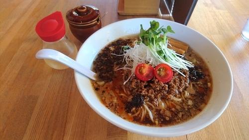 「【日替限定】冷し担々麺」@湖麺屋 Reel Cafeの写真