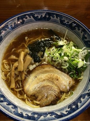「魚宗ラーメン醤油」@麺屋 無双の写真