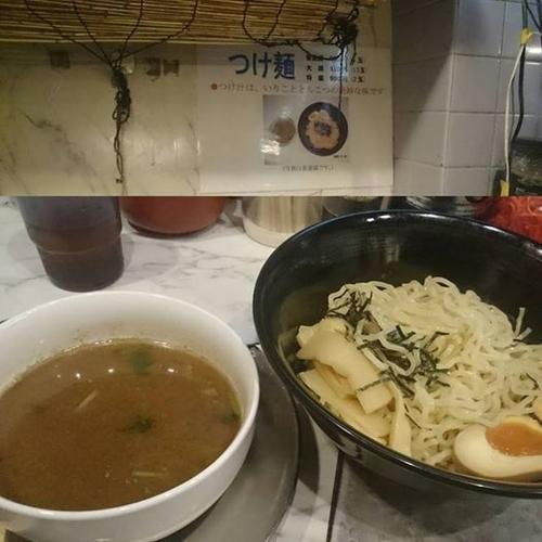「つけ麺1.5玉」@中華そば 花京 京橋店の写真