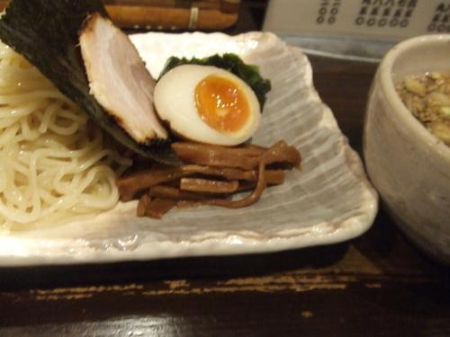 「つけ麺 850円」@らーめん 中々の写真