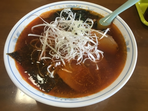 「ごまら〜めん 650円」@手打中華 鈴木食堂の写真