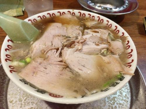 「ラーメン(チャーシュー麺)」@尾張ラーメン 第一旭 錦店の写真