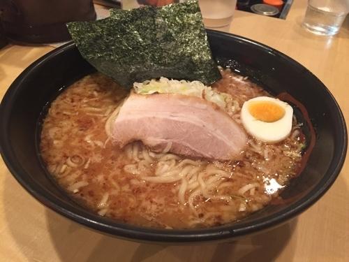 「炙りにんにくラーメン 大盛」@よしきゅう 本店の写真