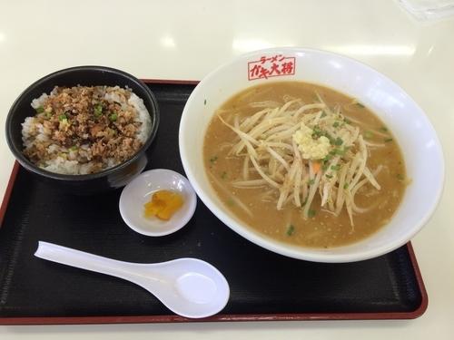 「Aセット」@ラーメンガキ大将 谷田部店の写真