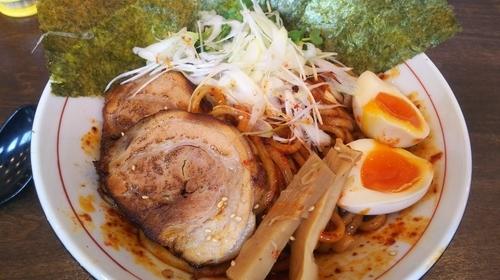 「辛あつ特製(4辛)」@麺屋みつばの写真