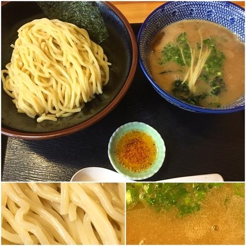 「濃厚魚介鶏つけめん780円」@麺屋 頂 中川會 曳舟店の写真