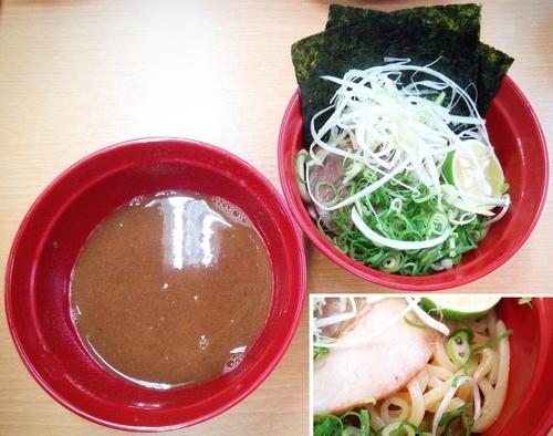 「鯖系濃厚魚介つけめん」@スシロー 川崎第一京浜店の写真