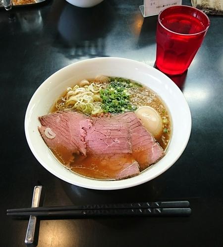 「贅沢焼牛らぁ麺」@牛骨らぁ麺 マタドール 本店の写真