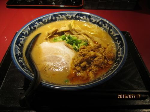「佐蔵味噌らぅめん 780円」@麺匠 佐蔵の写真