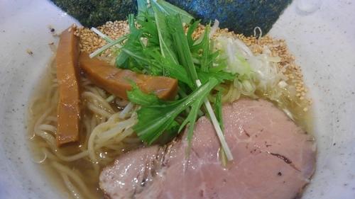 「冷しラーメン 塩 650円」@麺や かがのの写真