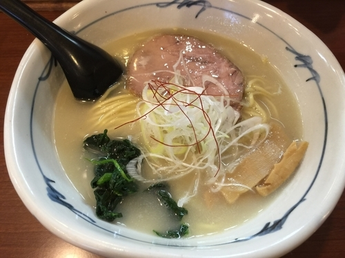 「地鶏白湯ラーメン」@そうげんラーメンの写真