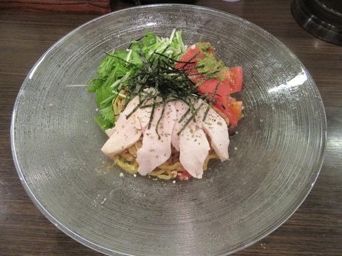 「限定 冷たい味噌deイタリアン(850円)」@麺屋  渉の写真