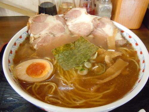 「中華チャーシューそば(大盛)」@麺や 一香。の写真