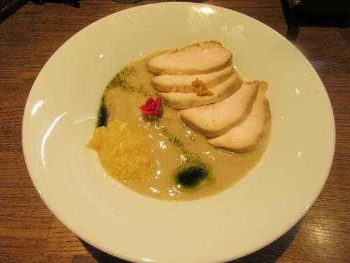 「限定 冷製ウニのポタージュ麺(1000円)」@らー麺屋 バリバリジョニーの写真