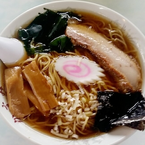 「美豚ラーメン 600円」@かすみ食堂の写真