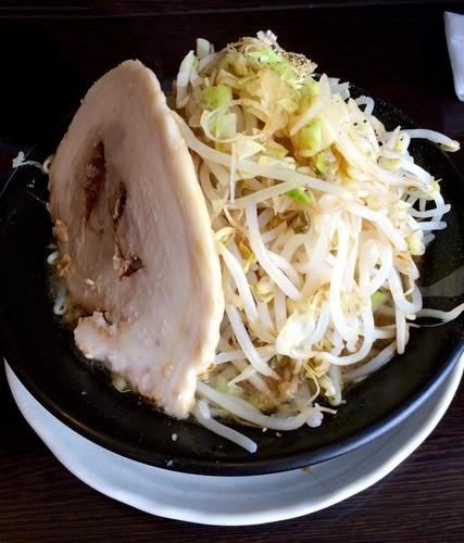 「野菜ラーメン(並盛り)」@麺屋 一心の写真
