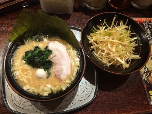 「ネギラーメン」@横濱家系ラーメン さがみ家の写真