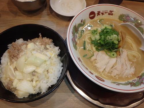 「豚タル丼定食(920円)」@天下一品 東雲店の写真