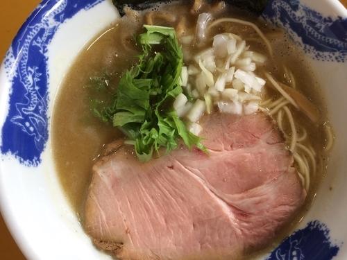「濃厚塩ラーメン 750円」@麺屋 扇 SENの写真