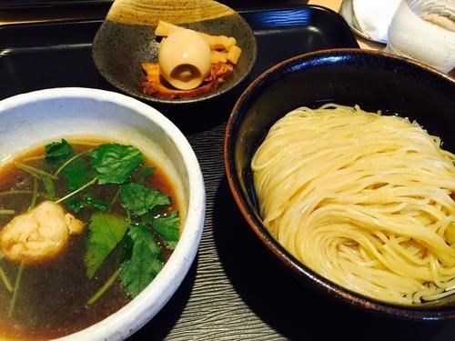 「あっさり淡麗半熟味玉煮干しつけ麺」@煮干し中華そば 一燈の写真