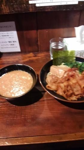 「味ぶた龍神つけ麺」@麺屋 龍神の写真