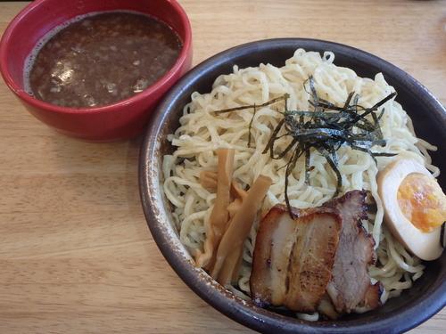 「こりくつけ麺(全粒粉)(800円)、麺W(+150円)他」@廣島麺匠 こりくの写真